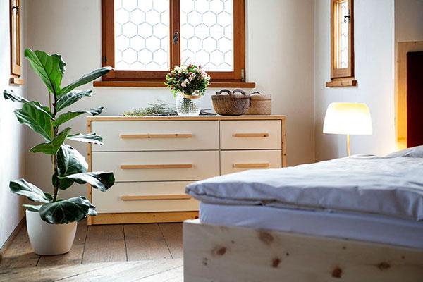Schlafzimmer-Zirbe