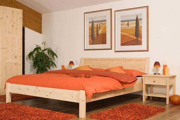 Schlafzimmer-Zirbenmoebel