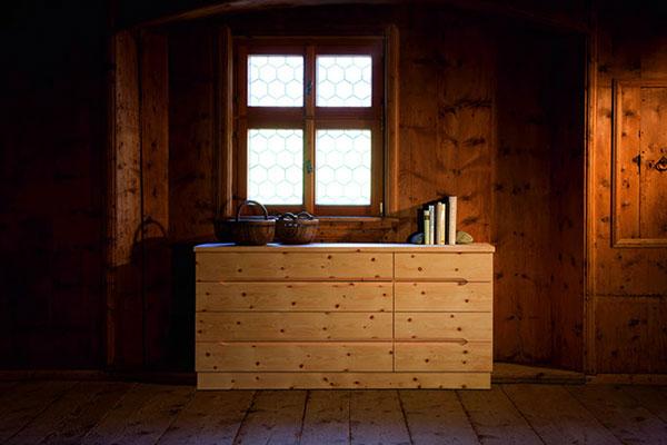 Zirbe-Schlafzimmer