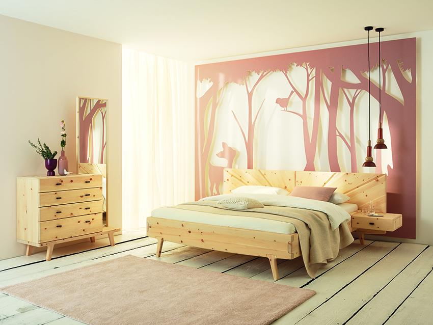 Zirbenschlafzimmer SOL von Anrei